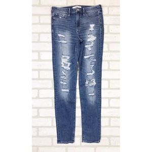 Abercrombie & Fitch High Rise Skinny Jeans 4
